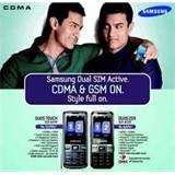 Samsung Dual Sim Cdma Gsm Mobiles In India Photos