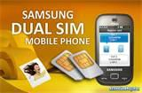 Samsung Mobile Dual Sim Cdma Gsm With Price Photos