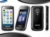 Pictures of Samsung Dual Sim Mobile With Touch Screen