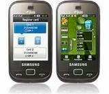 Images of Samsung Dual Sim Mobile With Touch Screen