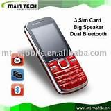 Chinese Dual Sim Mobile Phones Pictures